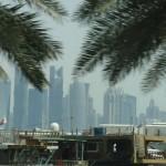 Old and new Doha views