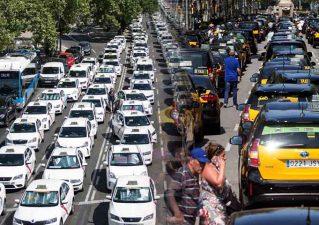 la huelga equivocada de los taxis